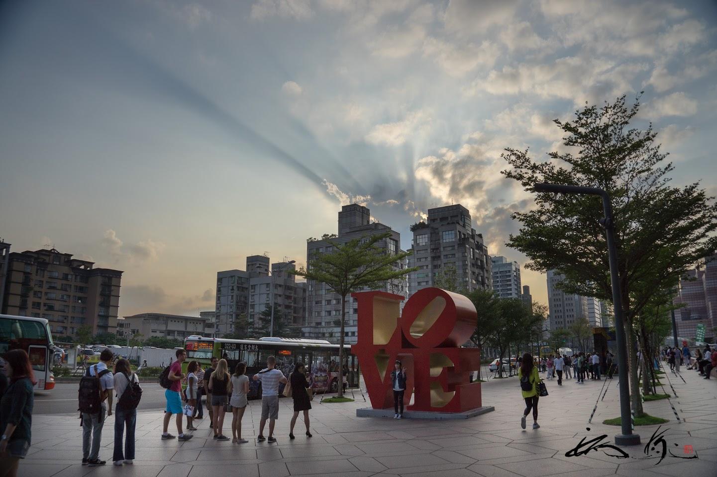 台北101前広場