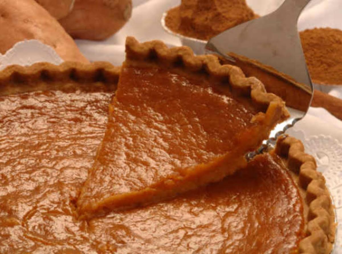 Mom S Sweet Potato Pie Just A Pinch Recipes