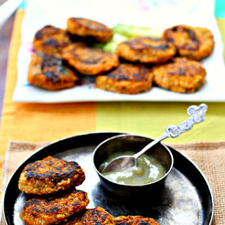 Butternut Squash and Couscous Patties-Indian Inspired #Squashin' Winter #SundaySupper.