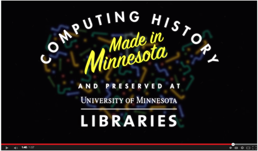 Link to Computing History video