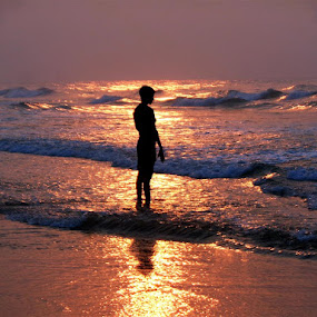 ব্রাহ্ম মুহূর্ত by Atreyee Sengupta - Landscapes Sunsets & Sunrises