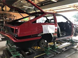 スプリンタートレノ AE86 84年式GT-Vのカスタム事例画像 たつやさんの2020年03月07日22:36の投稿