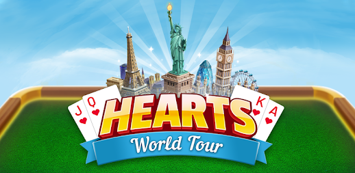 Hearts World Tour - Card Game Classic Plus APK