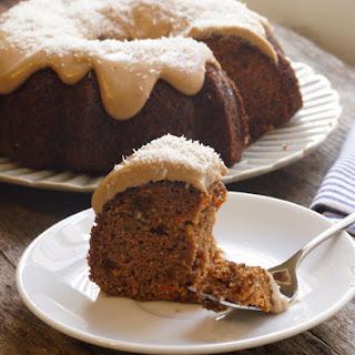 Coconut Flour Carrot Cake (Dairy-free).