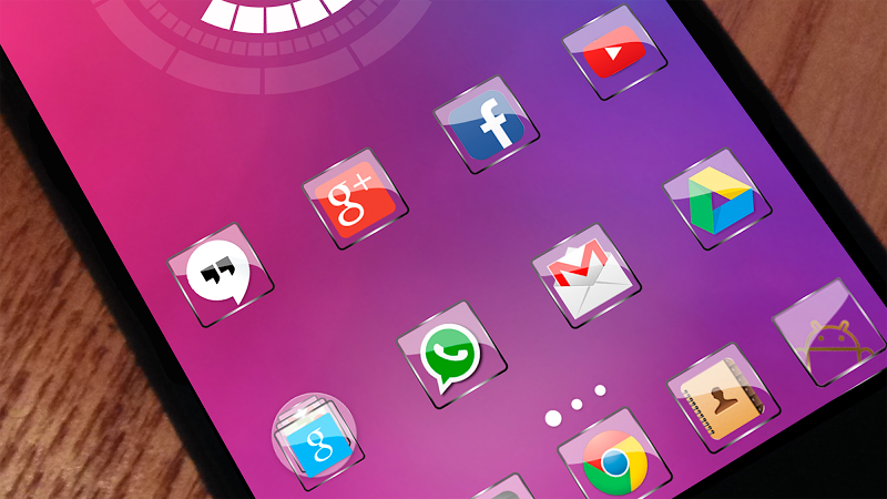 Glass NOVA Theme Icon pack v1.3.2 [Paid]