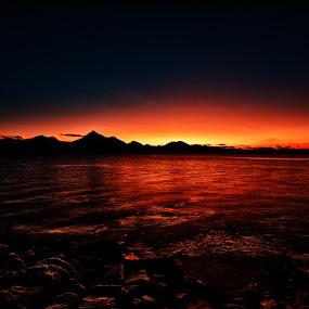 Glow HDR by Daniel Erstad - Novices Only Landscapes ( sunset, melbu, vesterålen, hadsel, lofoten, norway )