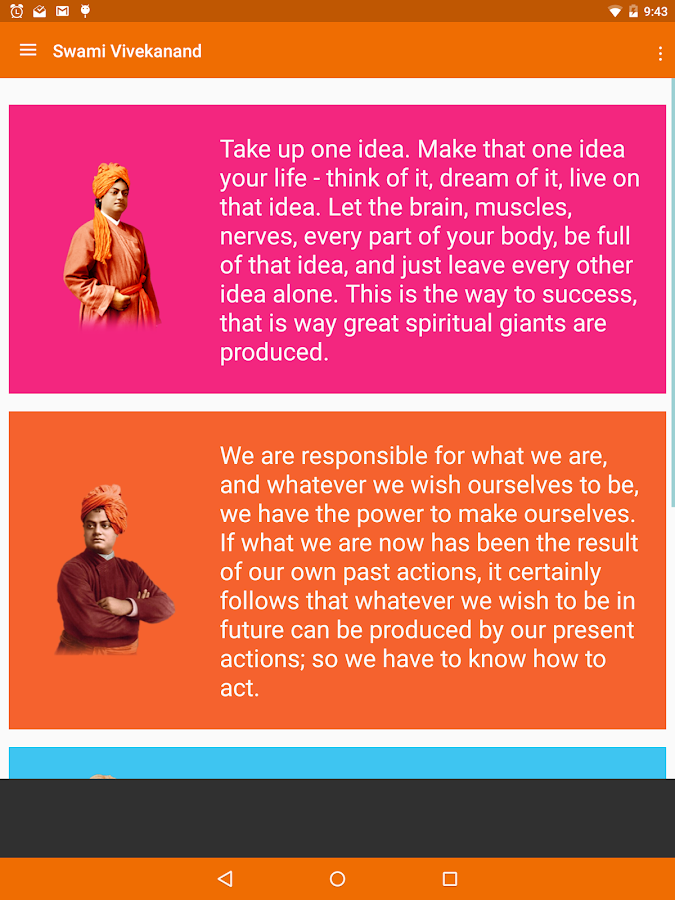 swami vivekananda quotes android apps on google play swami vivekananda quotes screenshot