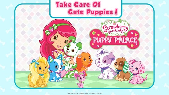 Strawberry Shortcake Puppy Palace Screenshot
