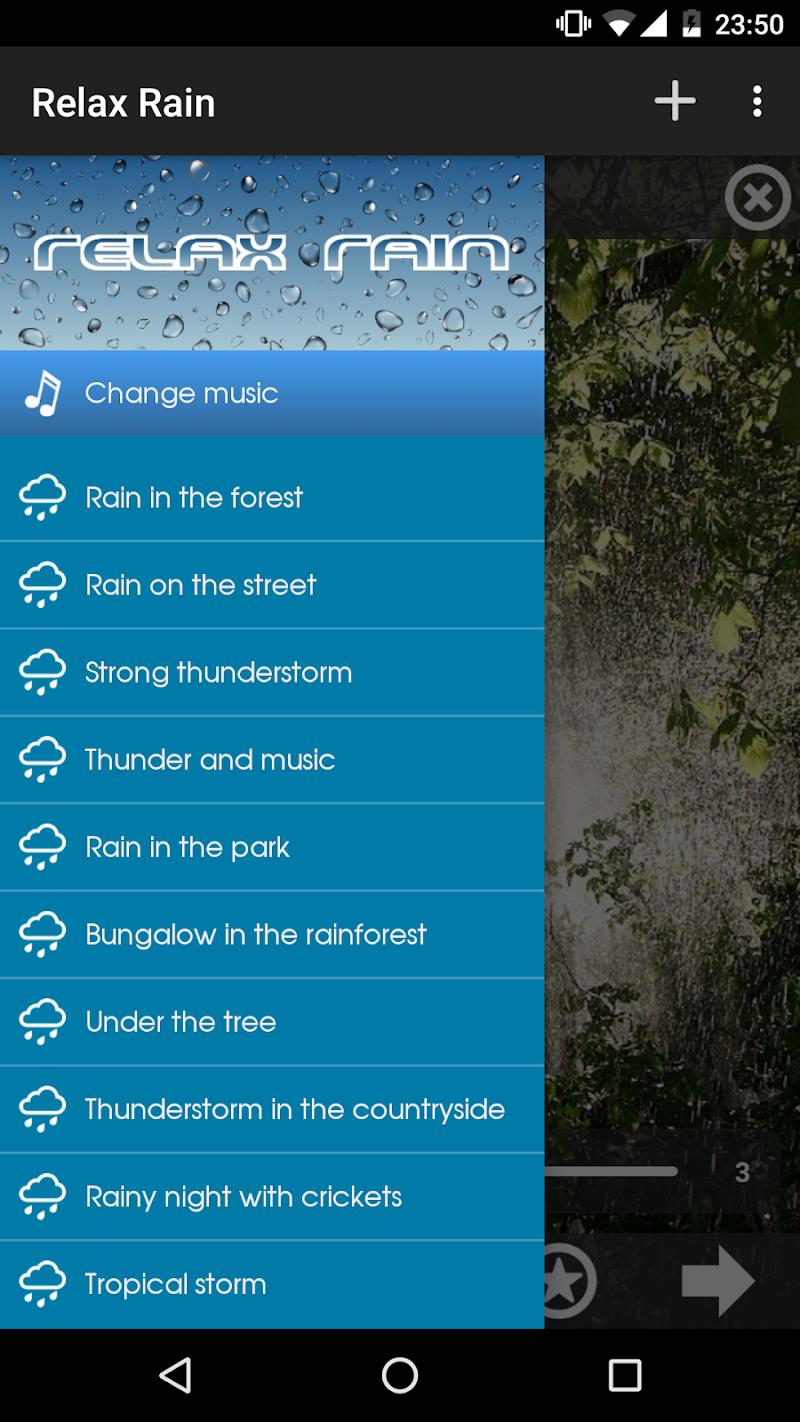 Relax Rain ~ Rain Sounds Screenshot