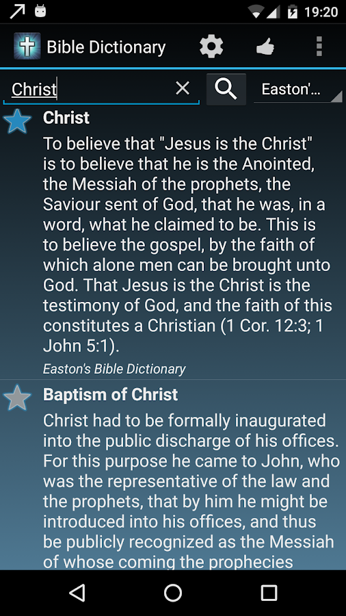 The Bible Dictionary® FREE- screenshot
