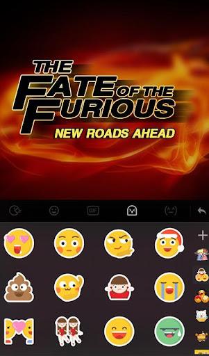 Fate of Furious Keyboard Theme  screenshots 4
