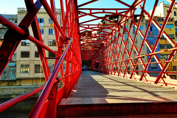 Ponte rosso di Girona di MAX1960