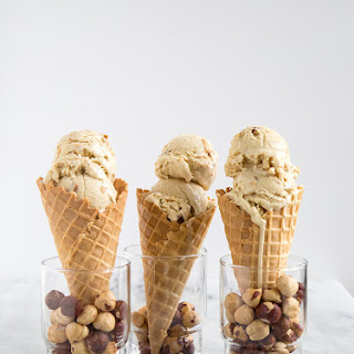 Maple Hazelnut Ice Cream