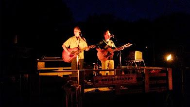 Photo: Gopherbroke performing at a bonfire