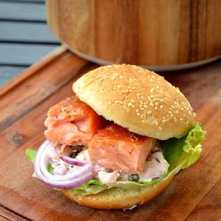 Nordic Salmon Burger