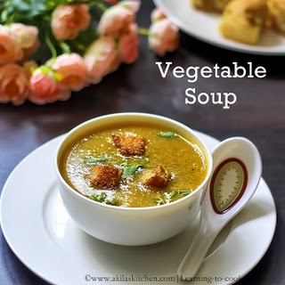 How to make Thick Vegetable Soup