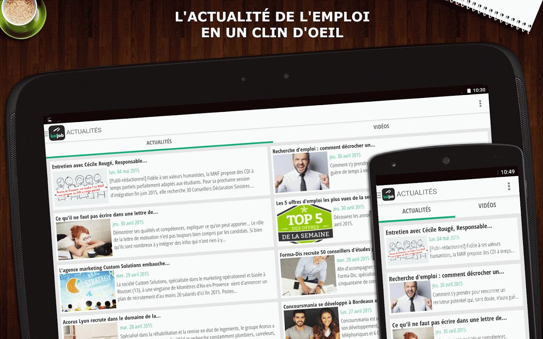 Keljob : Emploi, Job et Stage- screenshot