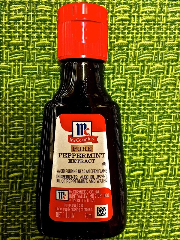 * Peppermint Extract: Peppermint extract a liquid alcohol flavored made from the essential peppermint...