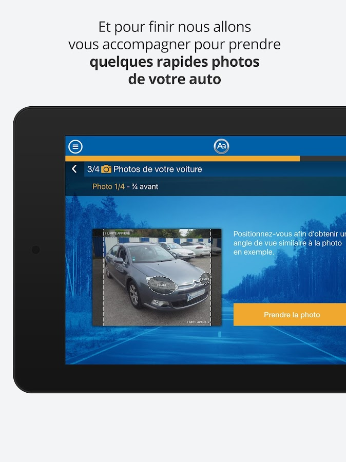 Reprise Aramisauto- screenshot