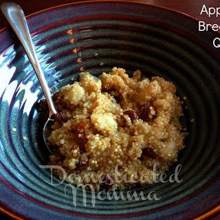 Apple Pie Breakfast Quinoa