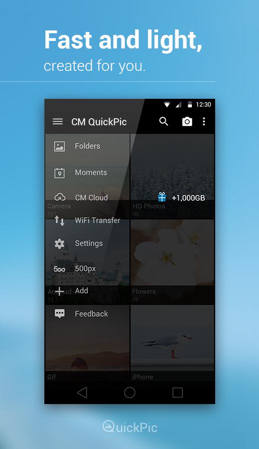QuickPic Gallery- screenshot