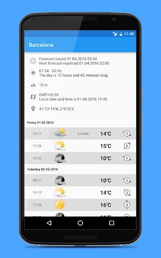 Weather widgets screenshot 6