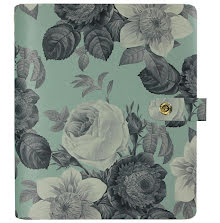 Simple Stories Carpe Diem Personal Planner 6X7.5 - Mint Vintage Floral UTGÅENDE