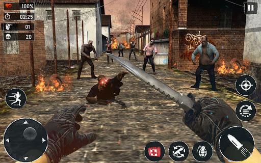 ZOMBIE FPS 2020 - LEFT ALONE 4 DEAD : New Games 1.0 de.gamequotes.net 3