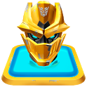 3D Handsome Steel Robot Theme icon