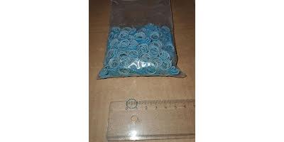 Latex snodd L 10-12mm blå