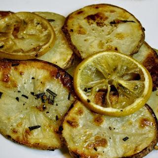 Lemon Rosemary Roasted Potatoes
