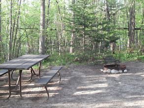 Photo: Camp site #60 at Brighton State Park