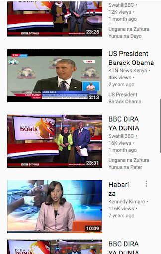 Download Televisheni Bbc Swahili Google Play Softwares