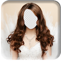 Wedding Dress Photo Camera icon