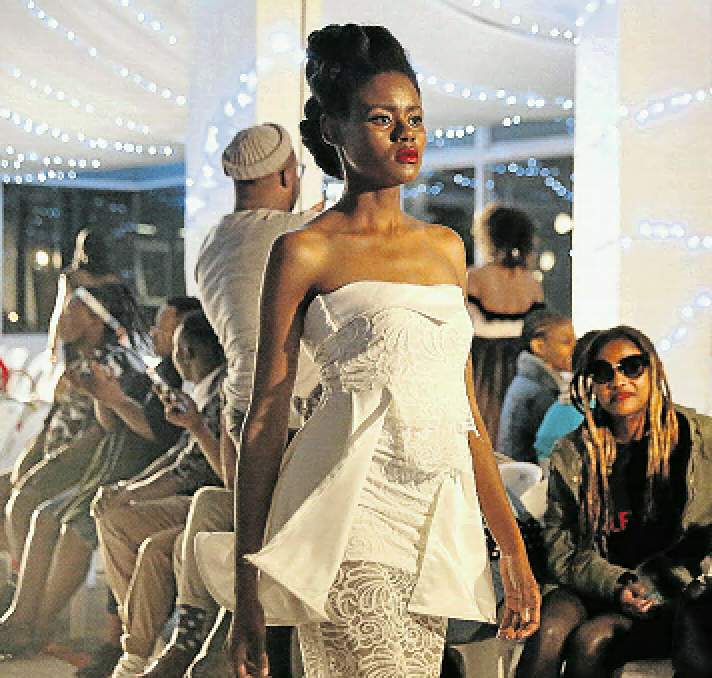 Femininity was celebrated at East London Fashion Week, which got off to a great start at Hemingways mall over the weekend.