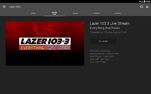 Lazer 103.3- screenshot thumbnail