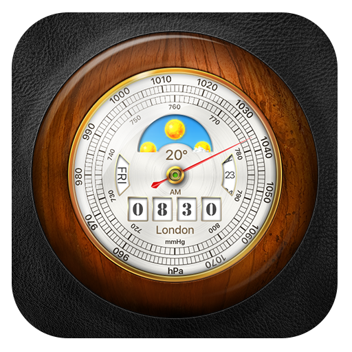 Barometer with Local Weather Widget