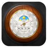 Barometer Local Weather Widget, laoshiweather