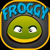 Froggy. Crossing Roads