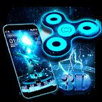3D Fidget Spinner Theme Icon