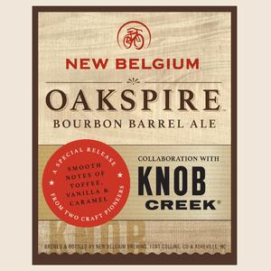Logo of New Belgium Oakspire Bourbon Barrel Ale