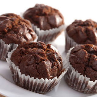 Coconut Flour Chocolate Hazelnut Muffins