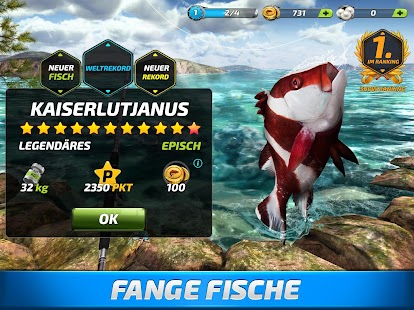 Fishing Clash: Angelspiel. 3D Welt der Fischer Screenshot