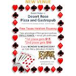 Free Poker Nights at Desert Rose