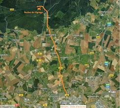 Photo: En partant d'alençon Nord, prendre direction la forêt d'écouves sur la D26