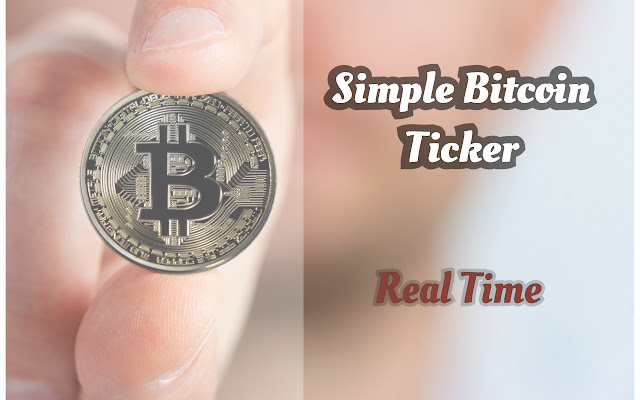 Simple Bitcoin Ticker
