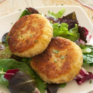 Easy Risotto Cakes.