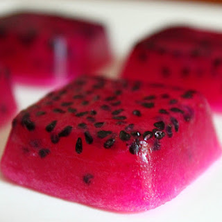 Dragon Fruit Jellies.