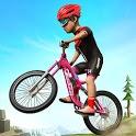 BMX Mountain Climb Stunts- Free Bicycle Games icon