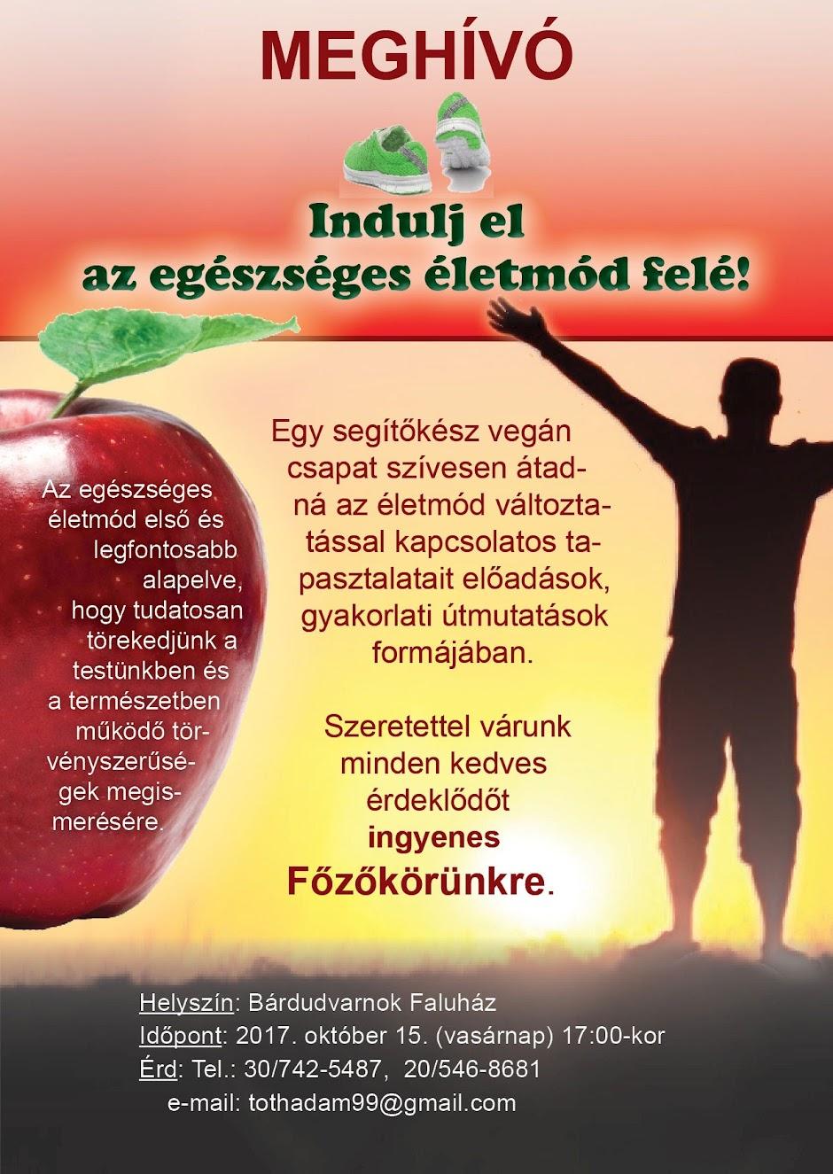 Bárdudvarnok Egészséges Életmód